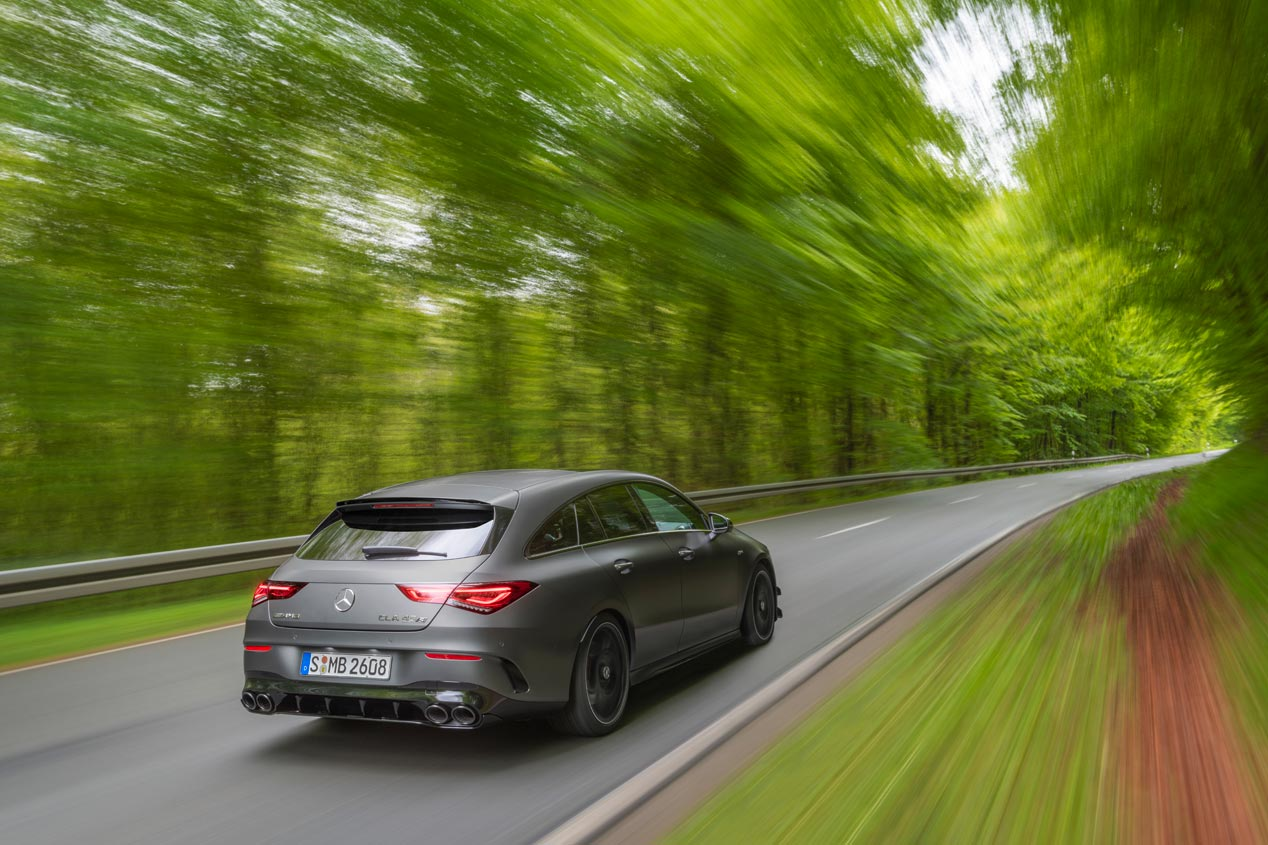 Mercedes-AMG CLA 45 4Matic+ Shooting Brake, el tercero de la casa