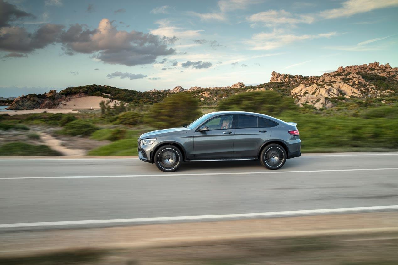 Mercedes-AMG GLC 43 4Matic: más potencia y renovación estética.
