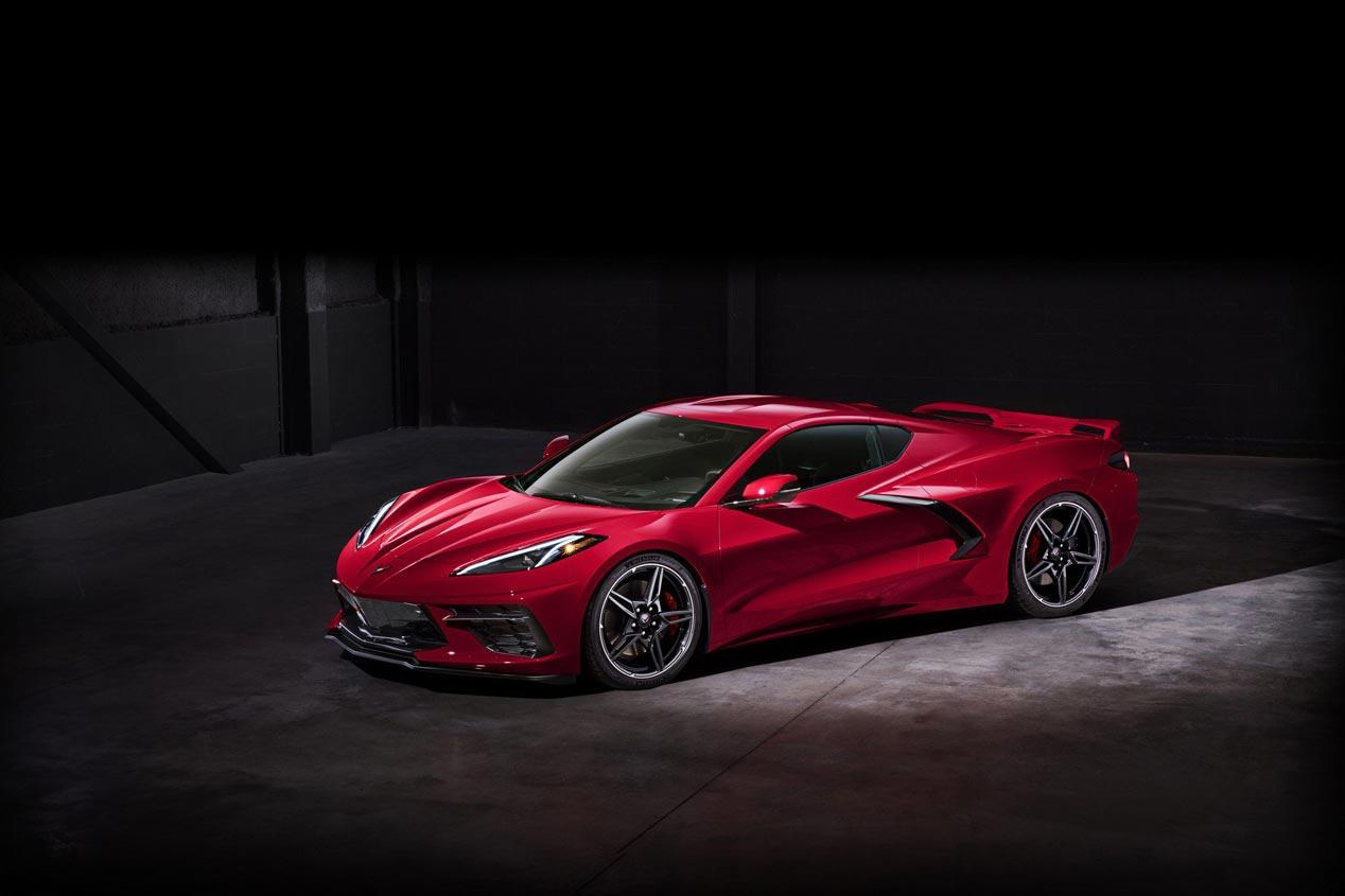 Corvette C8 Stingray 2020, ahora con motor central