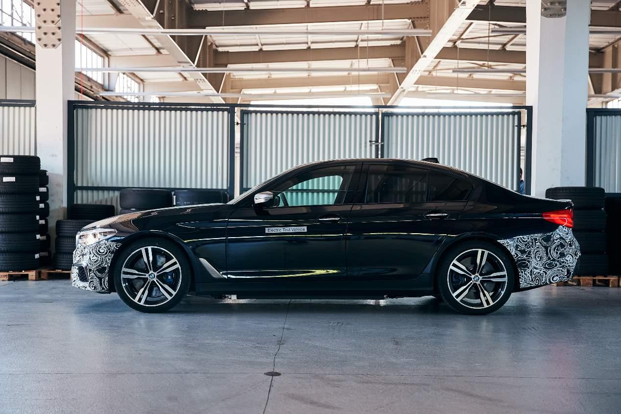 El BMW Serie 5, ¿totalmente eléctrico en 2023?