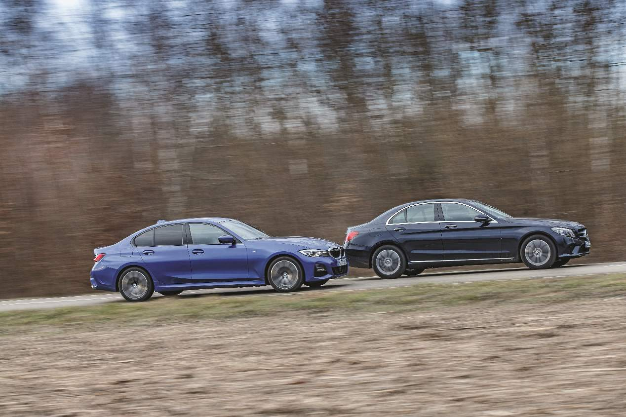 Comparativa de berlinas diésel: BMW 320d vs Mercedes C 220 d