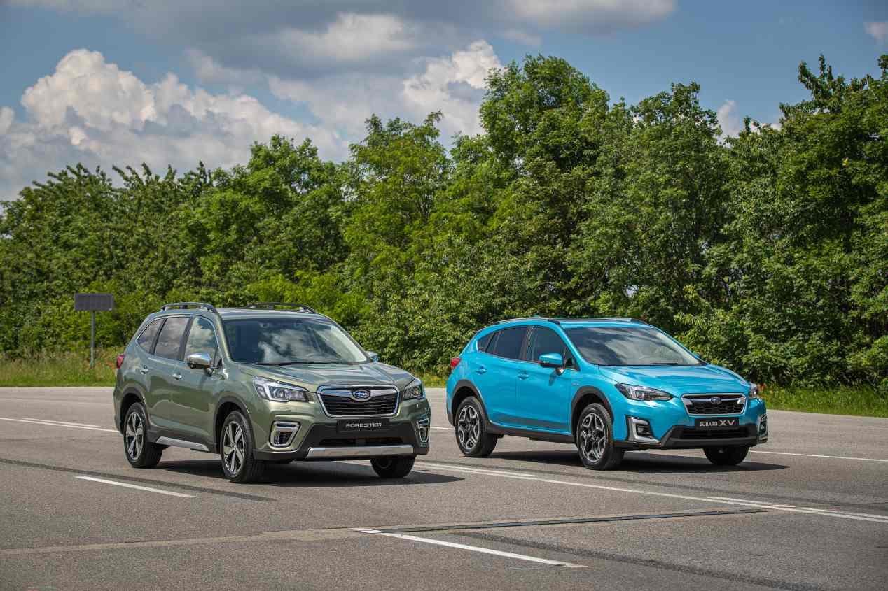 Todos los nuevos coches ECO de Subaru