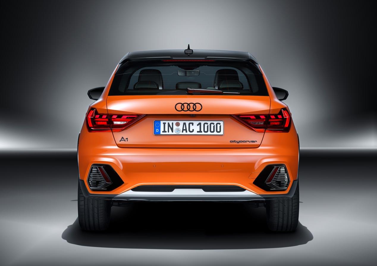Nuevo Audi A1 Citycarver, con aires offroad