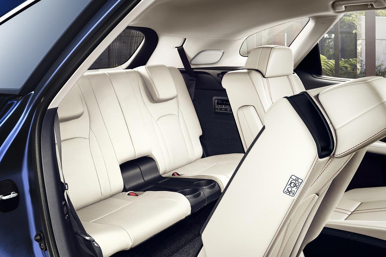 Lexus RX 450h L, siete plazas y eficiencia en formato SUV