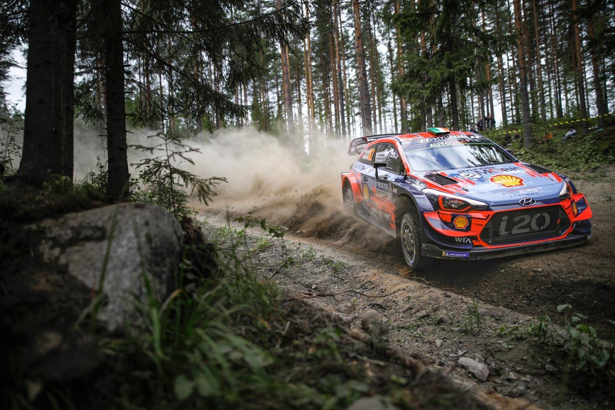 Las mejores imágenes de Hyundai en el Rally de Finlandia 2019