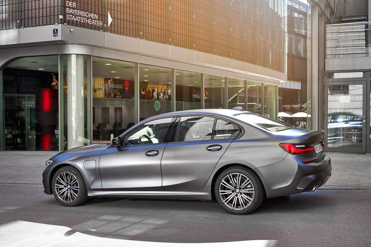 BMW 330e, las mejores fotos de la primera prueba