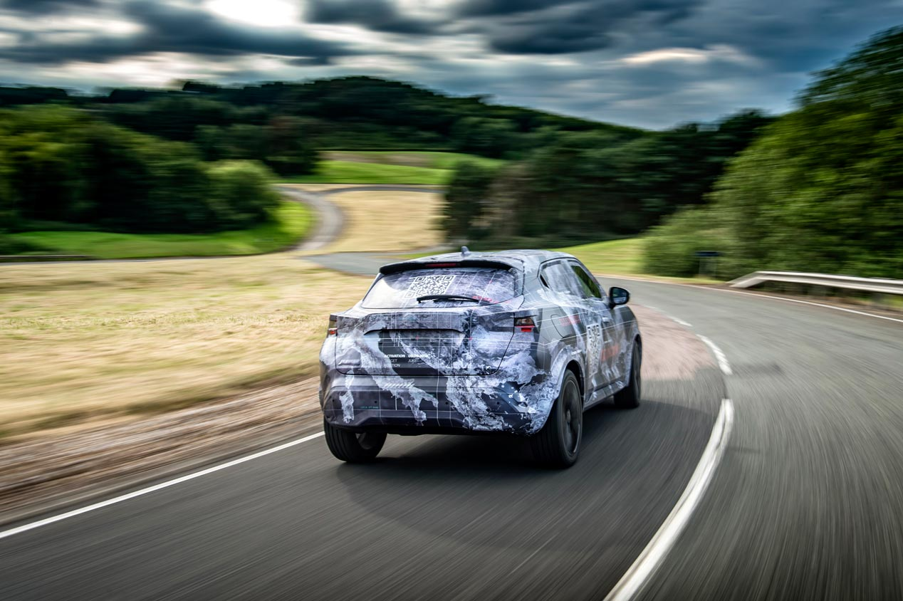 Al volante de la segunda generación del Nissan Juke