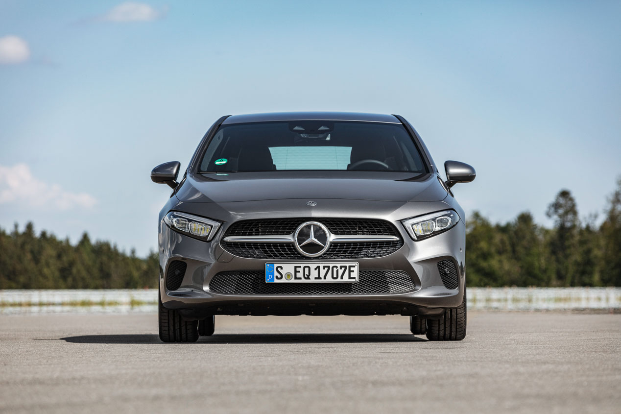 Mercedes Clase A y B 250e