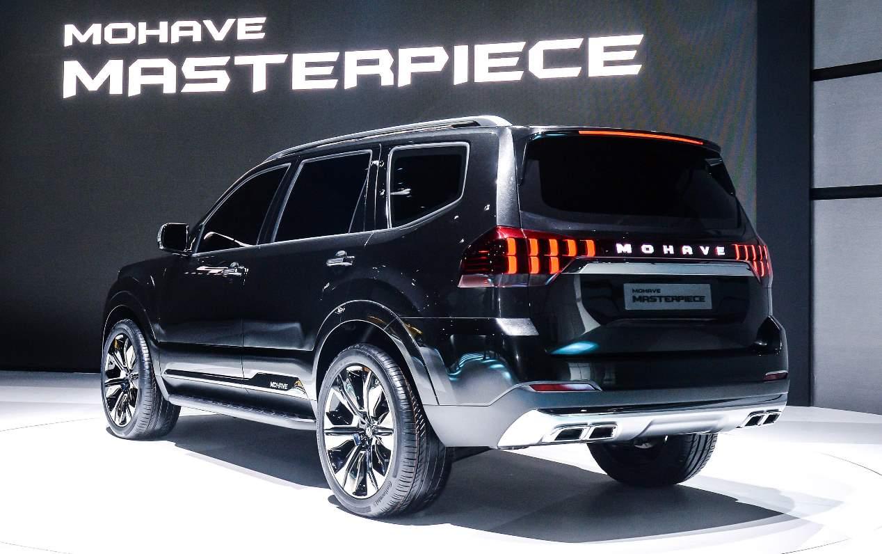 Kia Mohave 2020: primeras imágenes oficiales del nuevo SUV