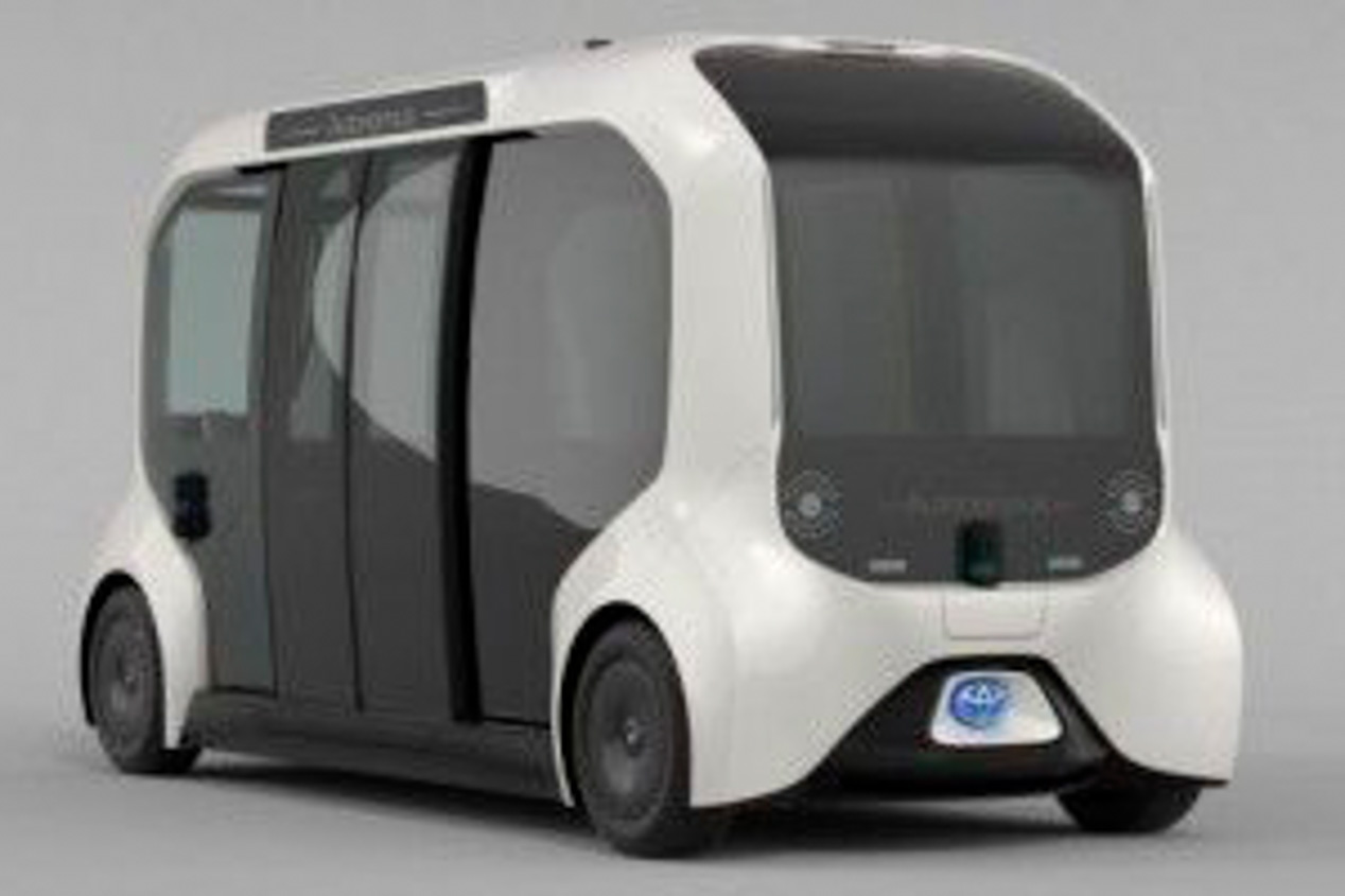 Los coches para Los Juegos de Tokio 2020