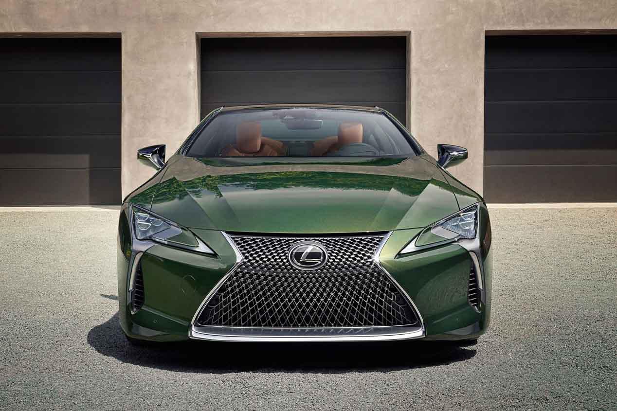 lexus lc 2020: llega la versión 2020 del coupé japonés