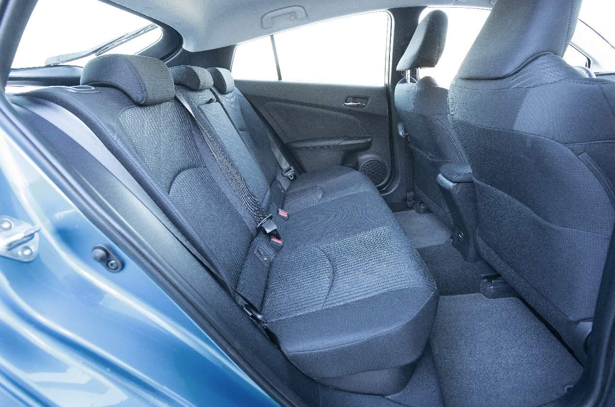 A prueba el Toyota Prius de tracción total