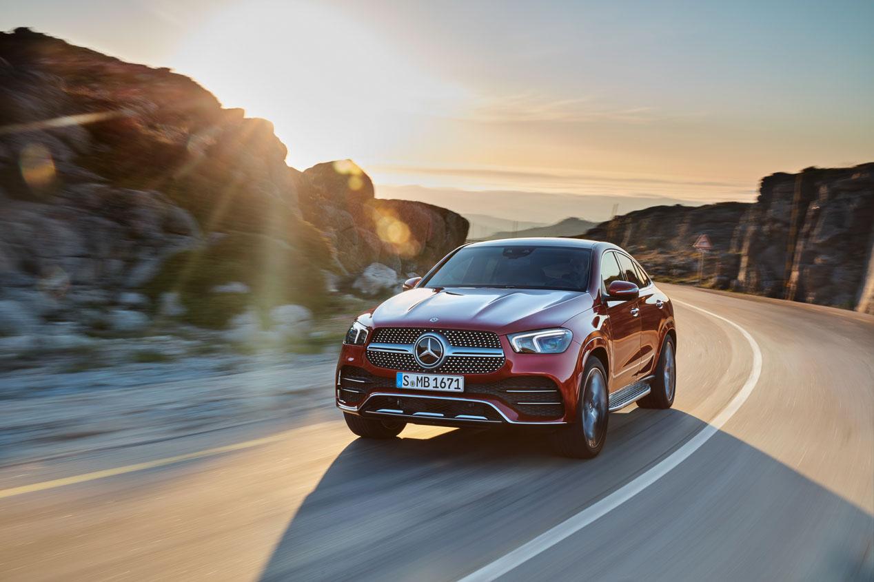 Mercedes-Benz GLE Coupé: nueva generación del SUV coupé a la vista