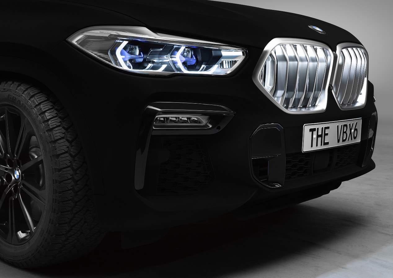 El nuevo BMW X6 2020 con el llamativo color Vantablack VBx2