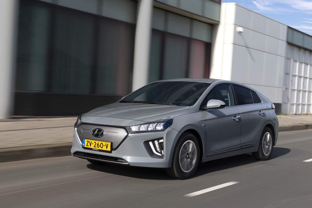 Hyundai Ioniq EV 2020: las mejores fotos de la berlina eléctrica