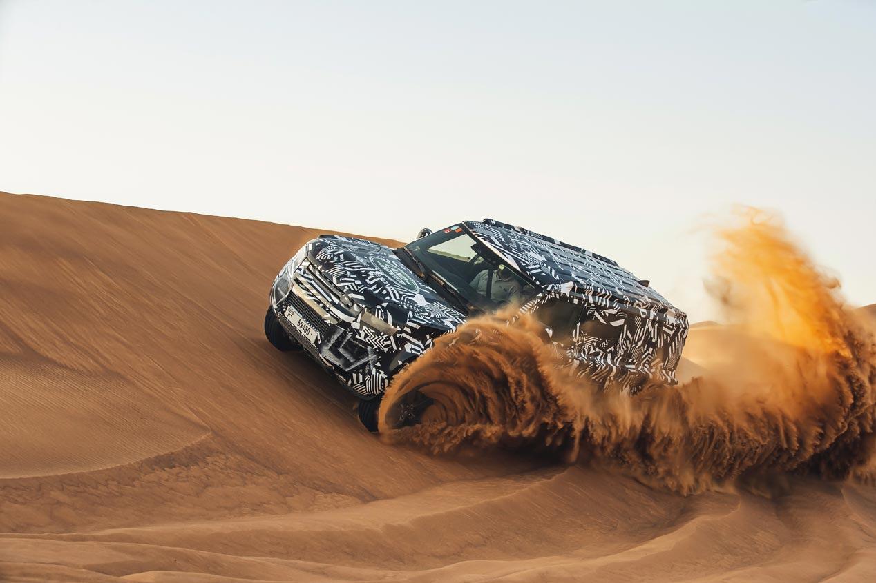 Nuevo Land Rover Defender 2020, a punto de caramelo