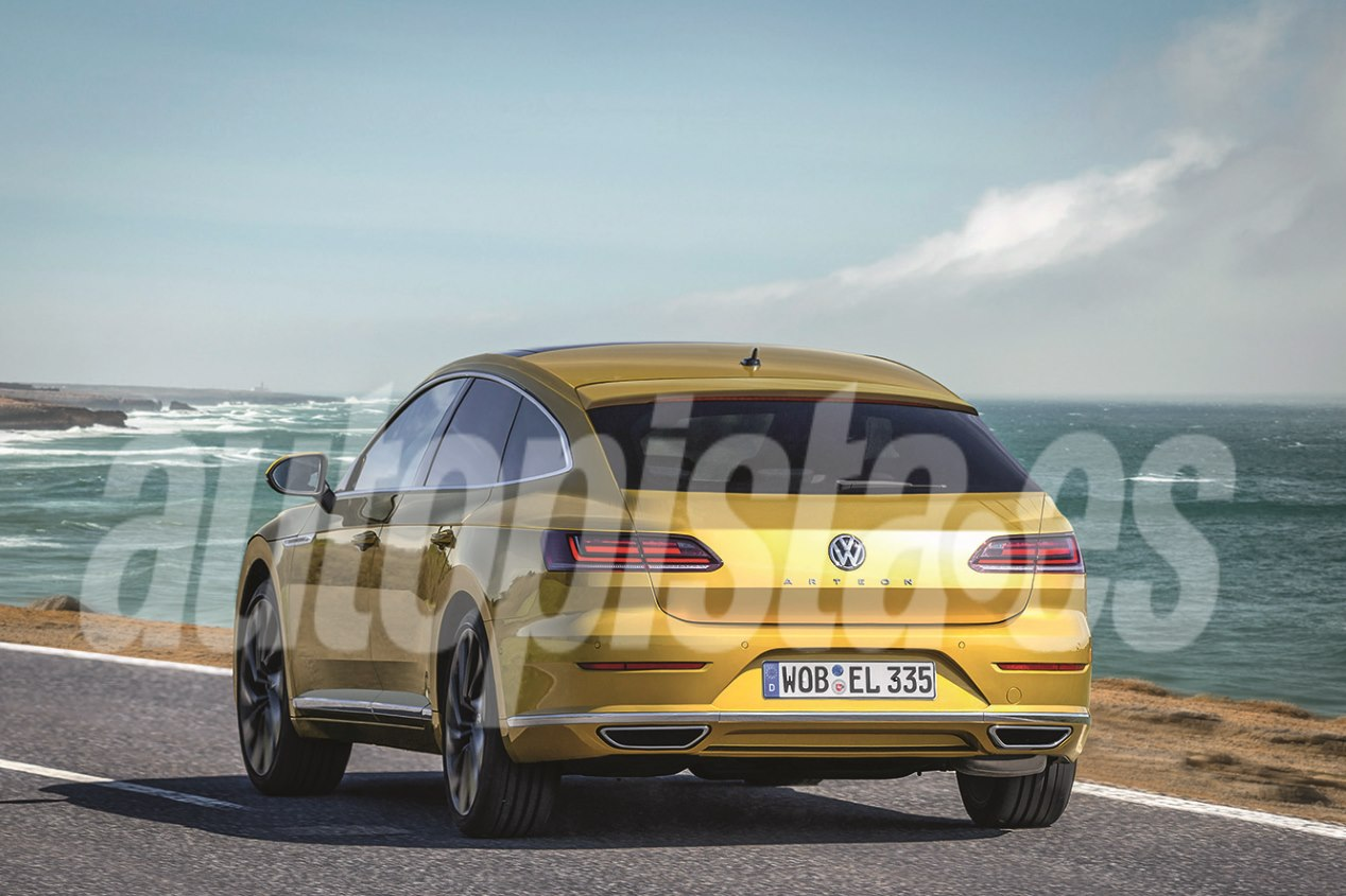 VW Shooting Brake 2020: el nuevo coupé familiar, listo para 2020