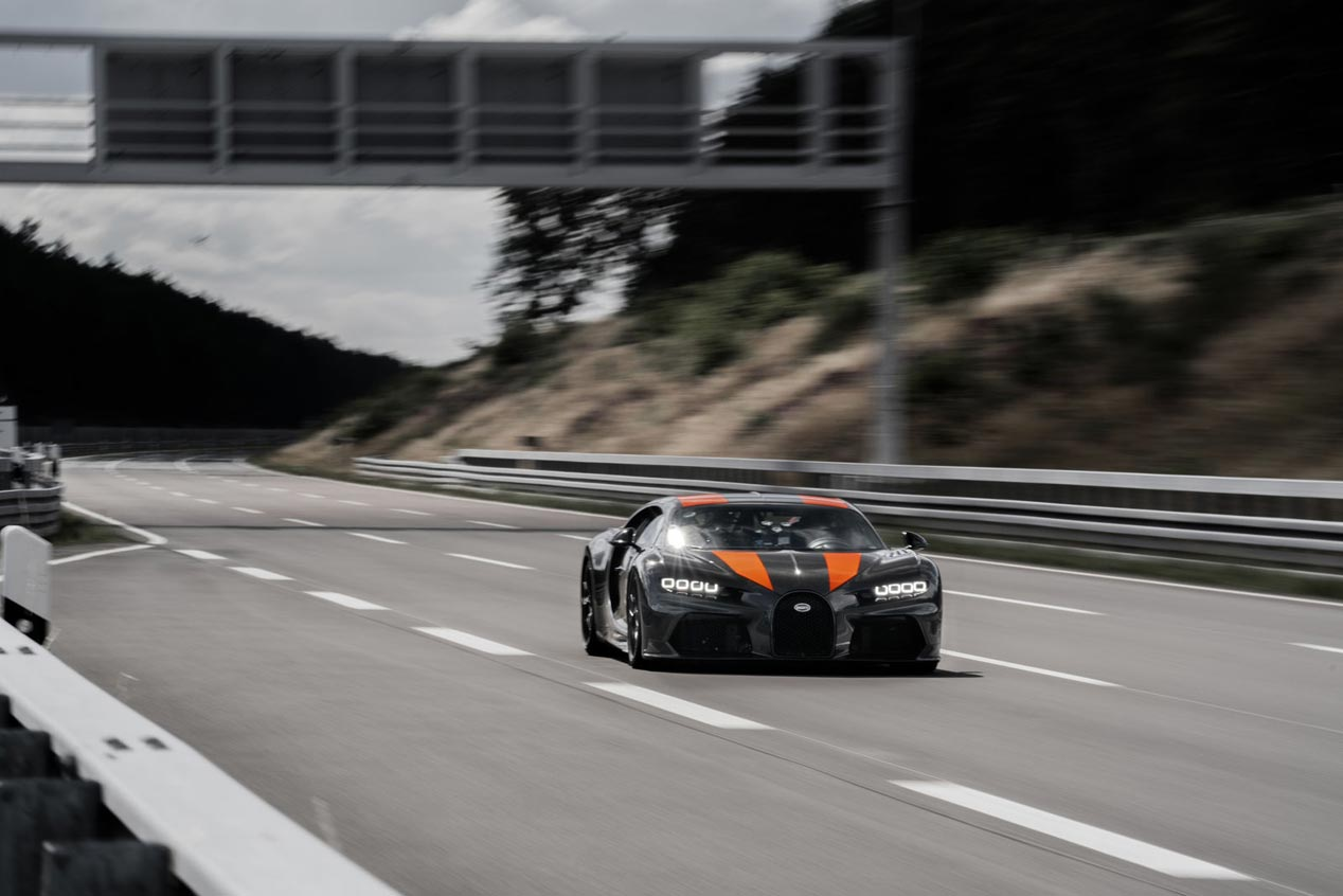 El Bugatti Chiron, otra vez de récord