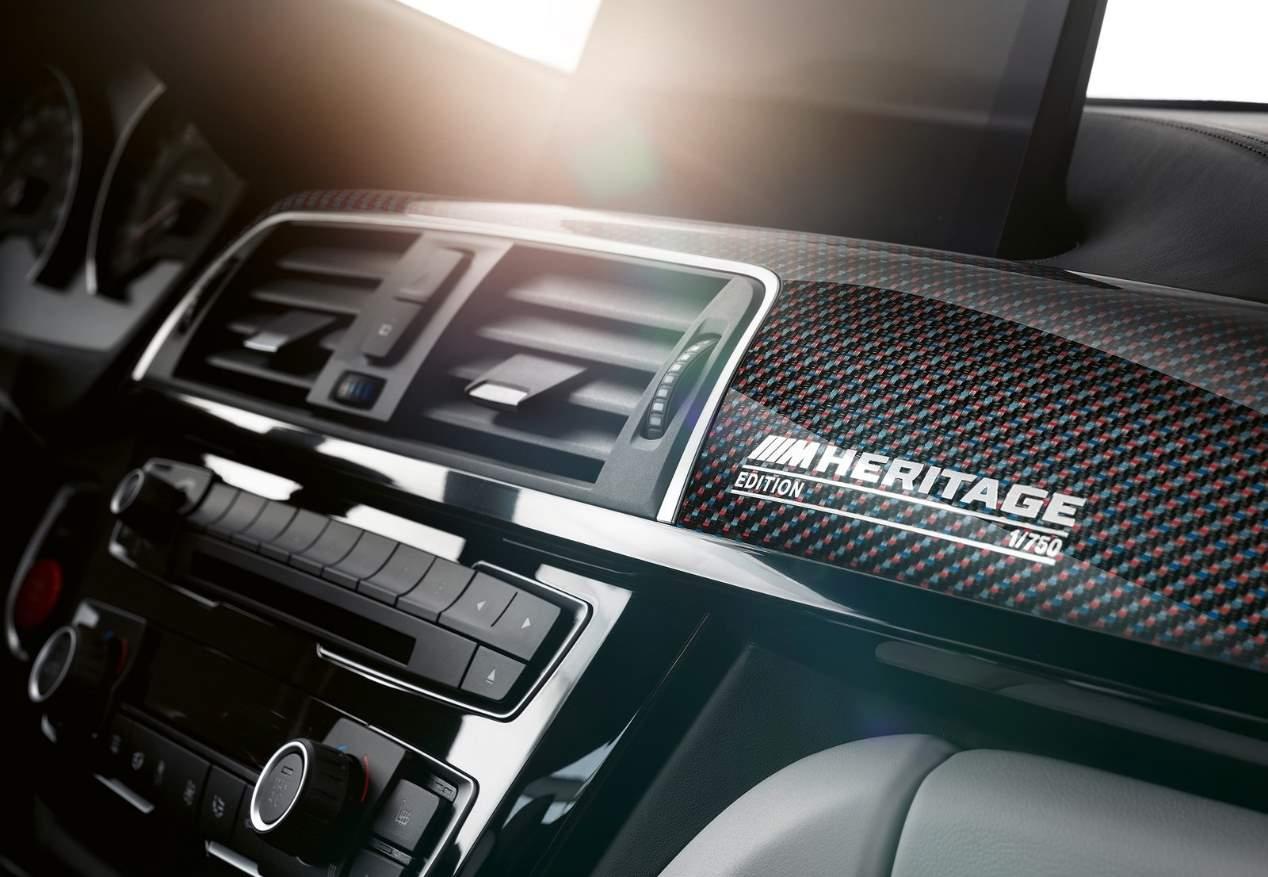 BMW M4 Edition M Heritage: pura tradición deportiva