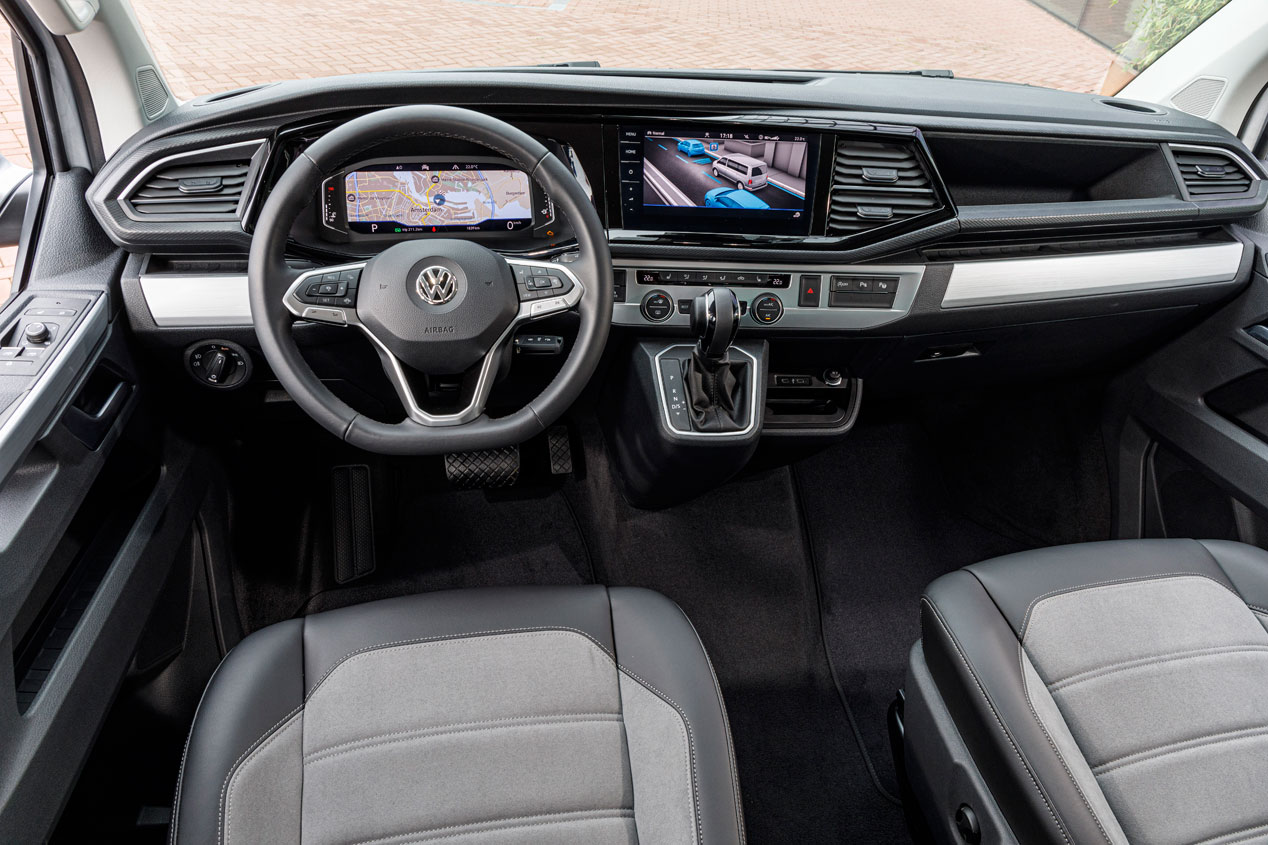 La última y más equipada versión de la Volkswagen Bulli
