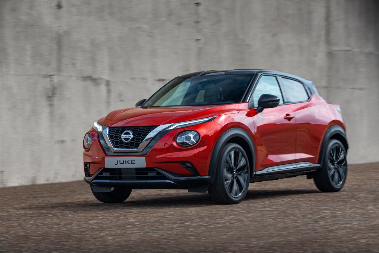 Nissan Juke 2020: primeras fotos oficiales del nuevo SUV
