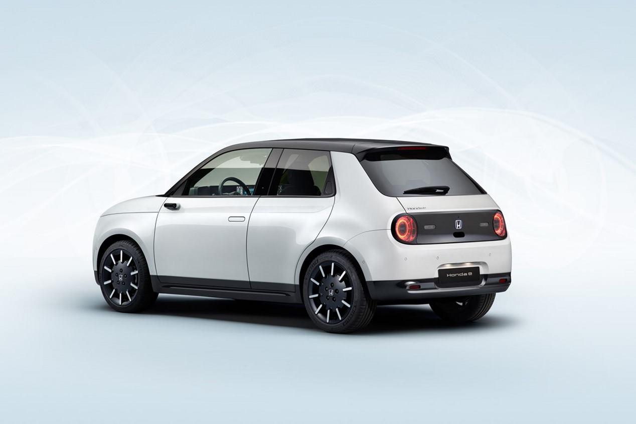 Honda e 2020: primeras fotos definitivas del nuevo coche eléctrico