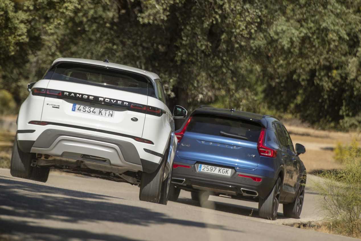 Comparativa: Range Rover Evoque D180 AWD vs Volvo XC40 D4 AWD