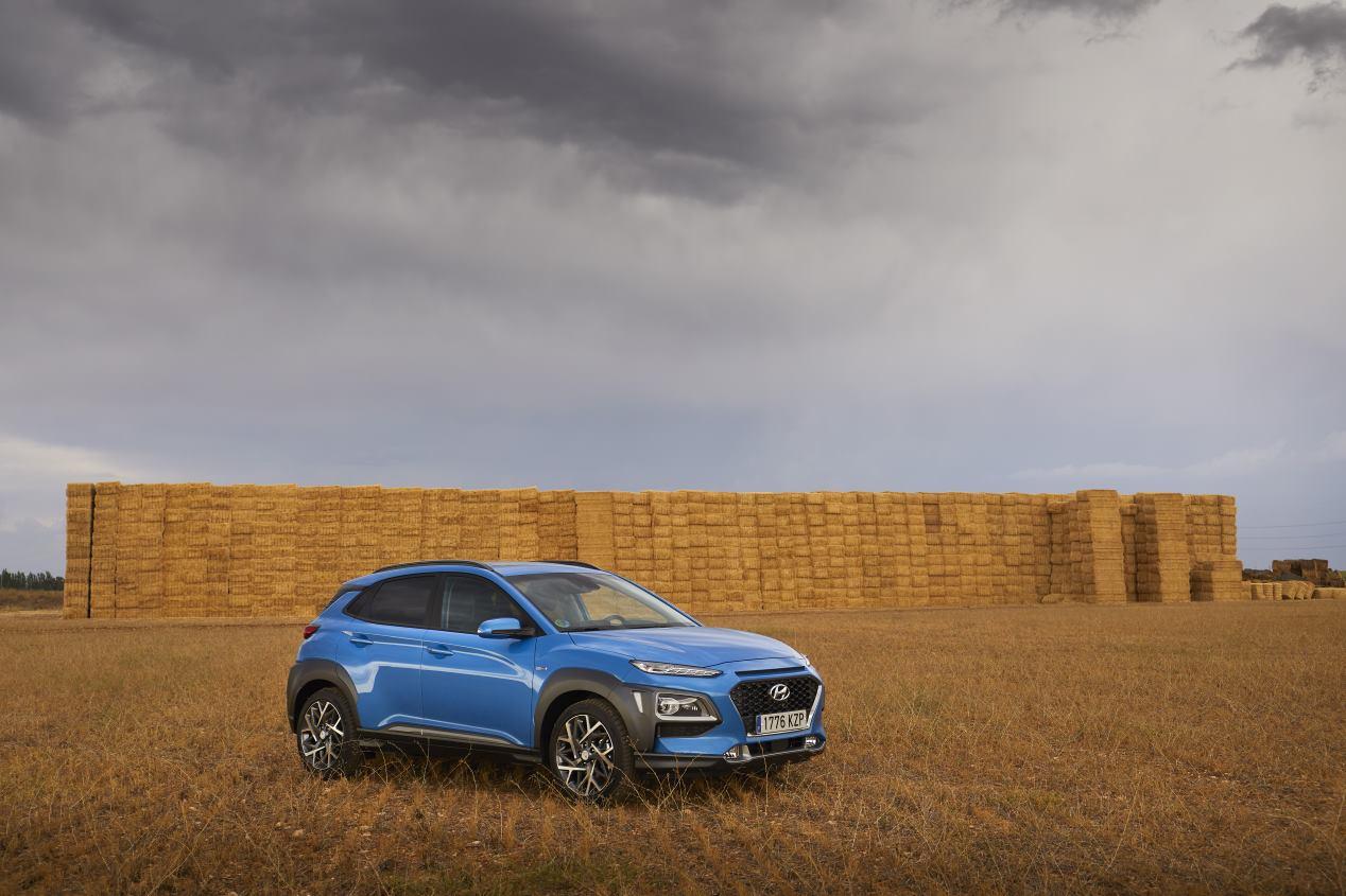 Hyundai Kona Híbrido: así es el nuevo SUV, en FOTOS