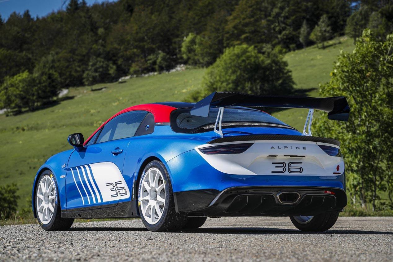 Alpine A110 Rally, preparado para los rallyes
