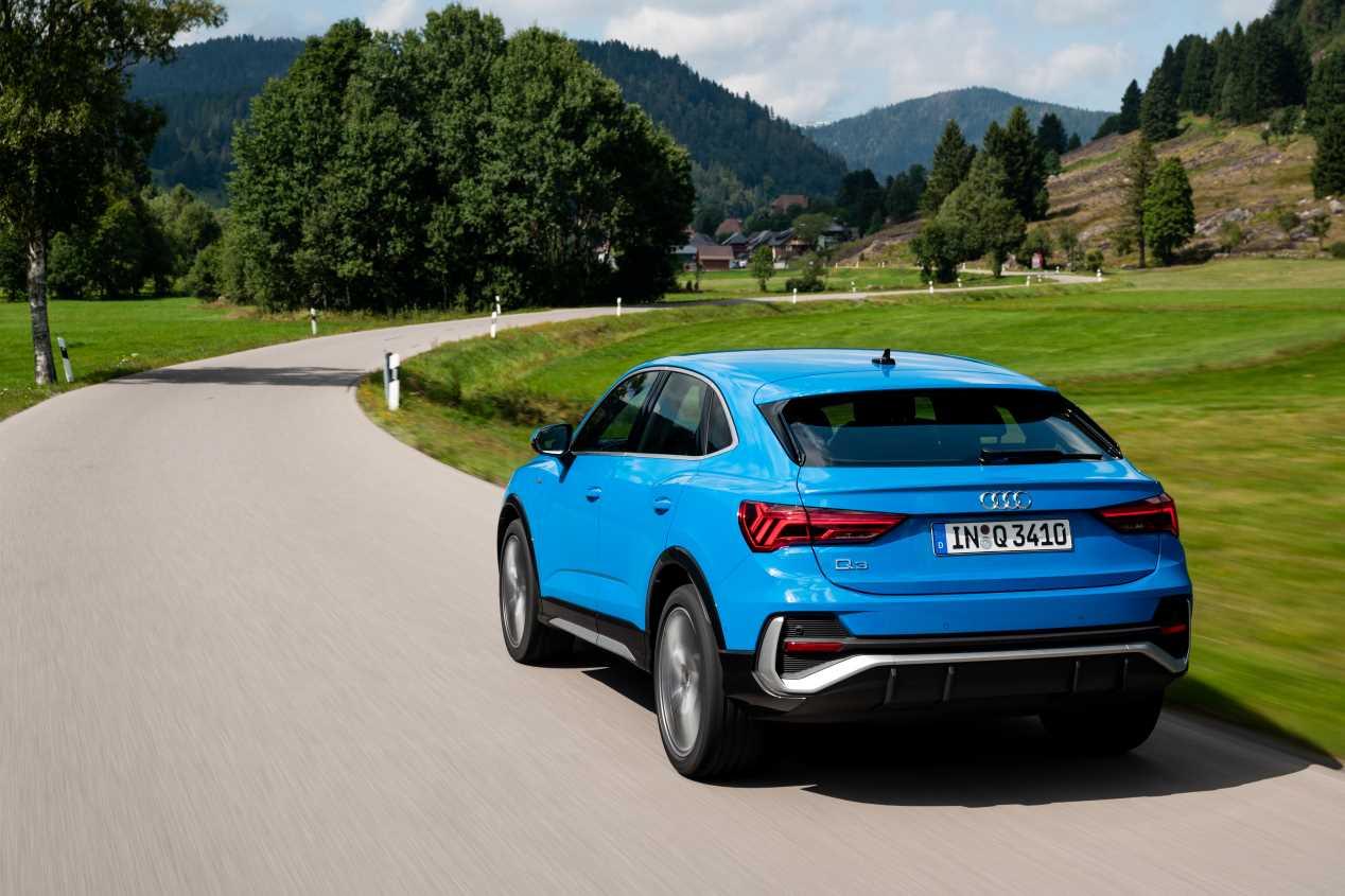 Audi Q3 sportback: las mejores fotos del nuevo SUV