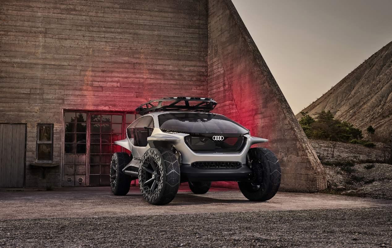 Audi AI:TRAIL, el 4x4 del futuro toma forma: todas las fotos