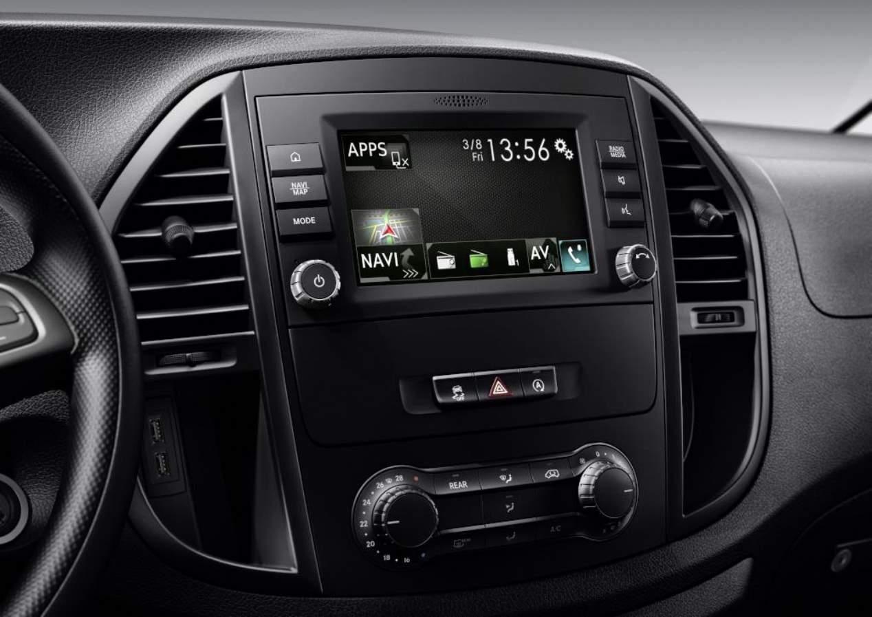 La Mercedes eVito eléctrica, en fotos