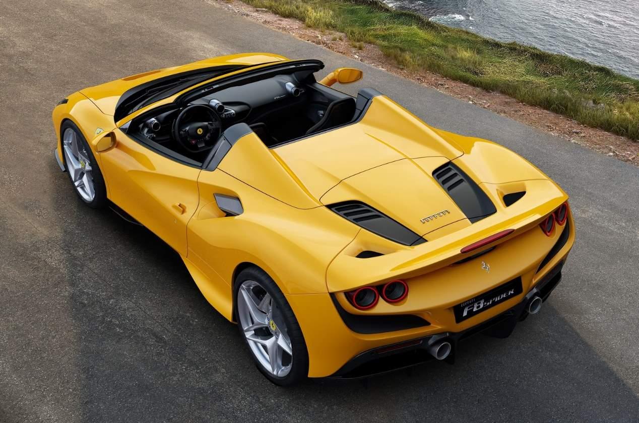 El Ferrari F8 Spider: las fotos del nuevo deportivo descapotable