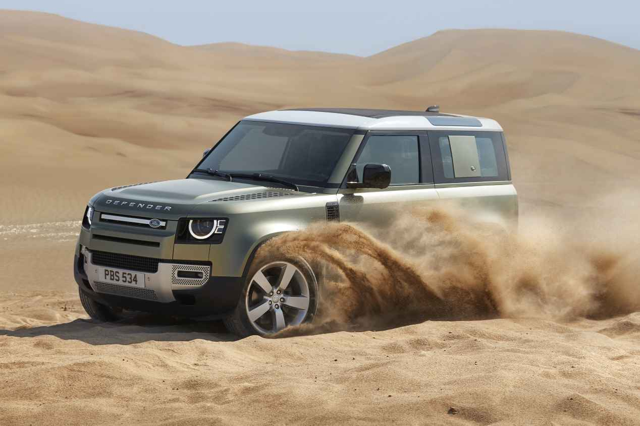 Land Rover Defender 2020: todas las fotos oficiales del nuevo todo terreno