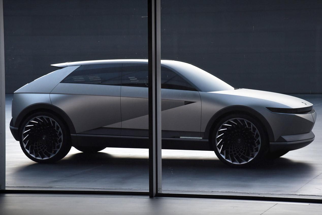 Hyundai 45 EV Concept, nueva imagen para la movilidad futura