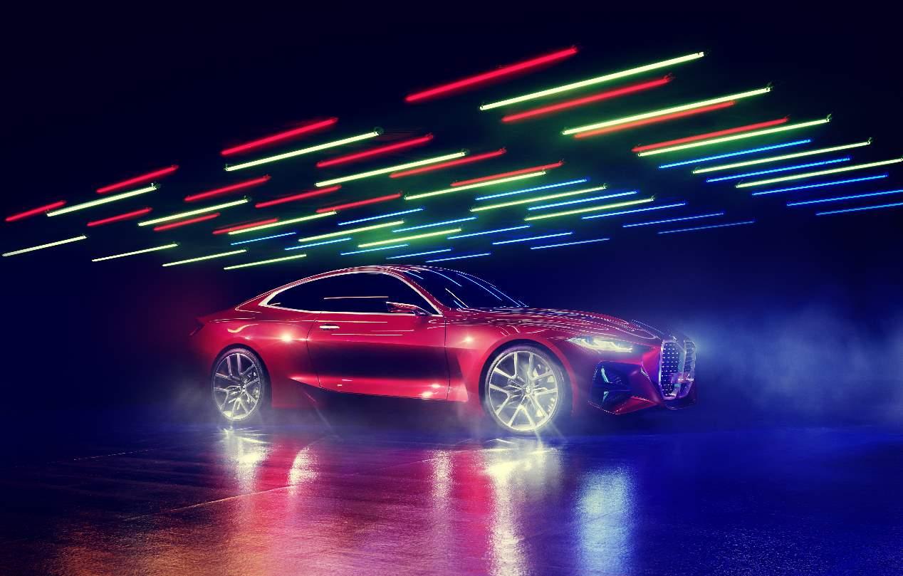 BMW Concept 4: el nuevo i4 eléctrico toma forma