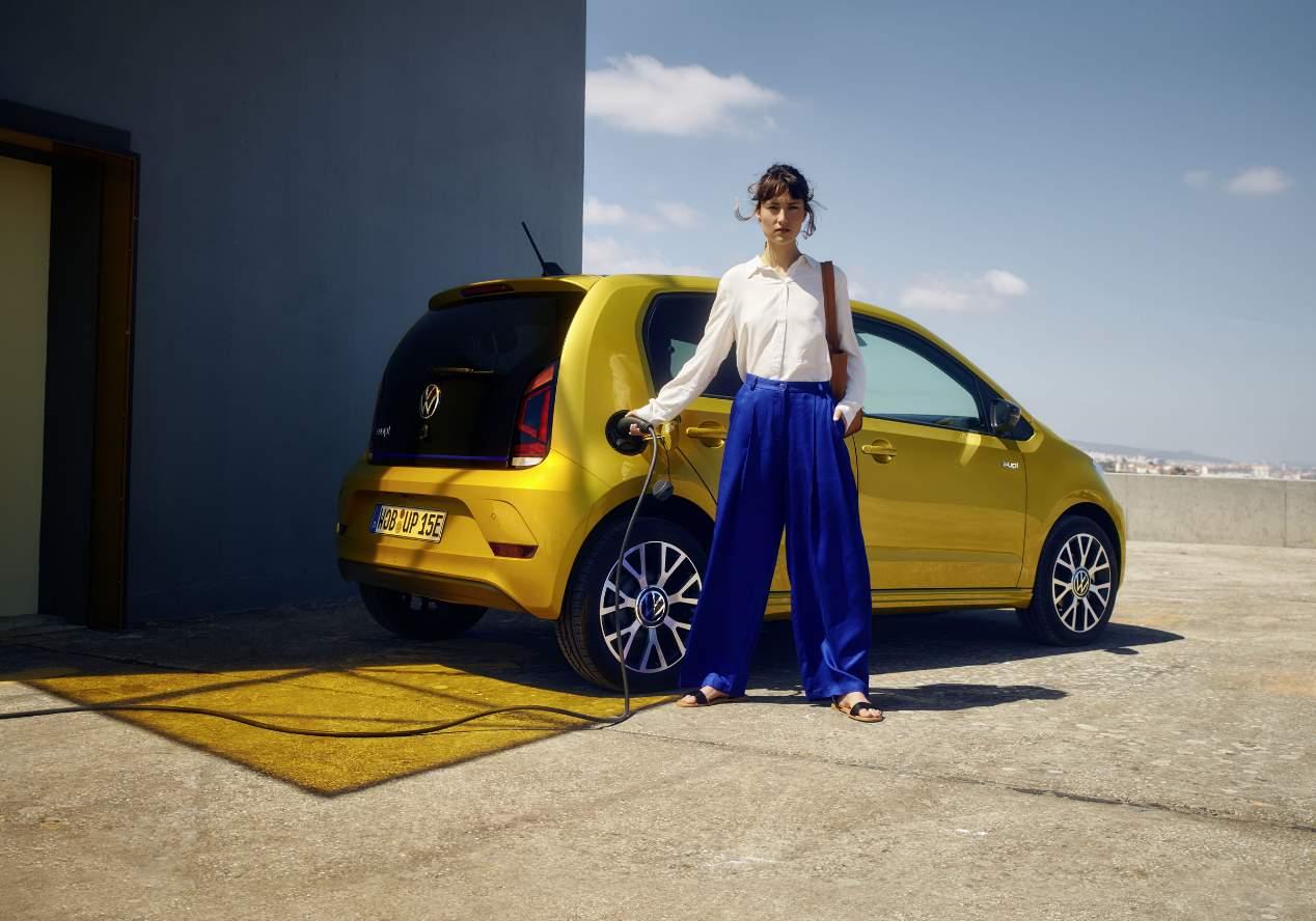 VW e-up! 2020: las fotos del renovado coche eléctrico