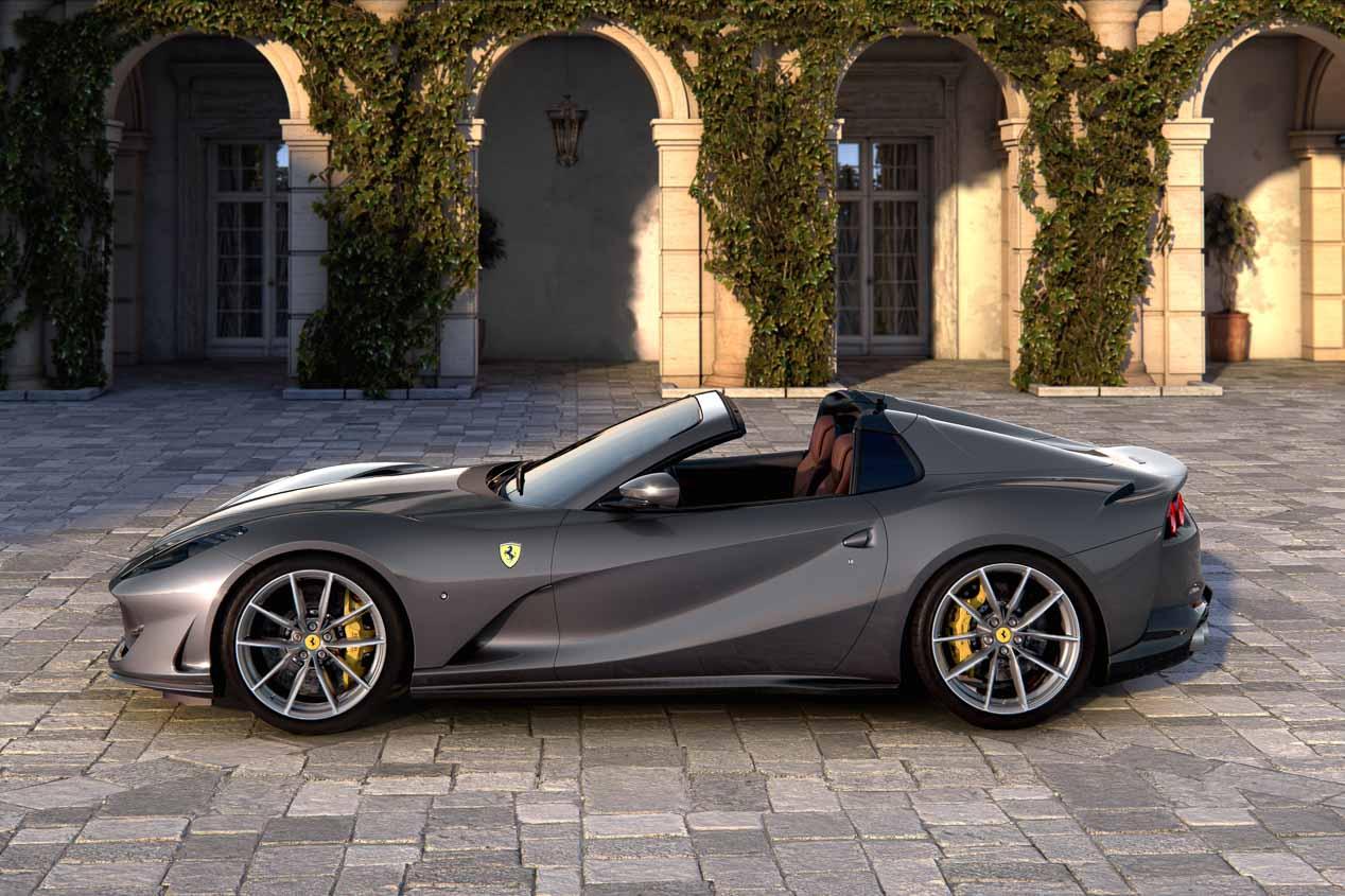 Ferrari 812 GTS, 800 CV de puro placer