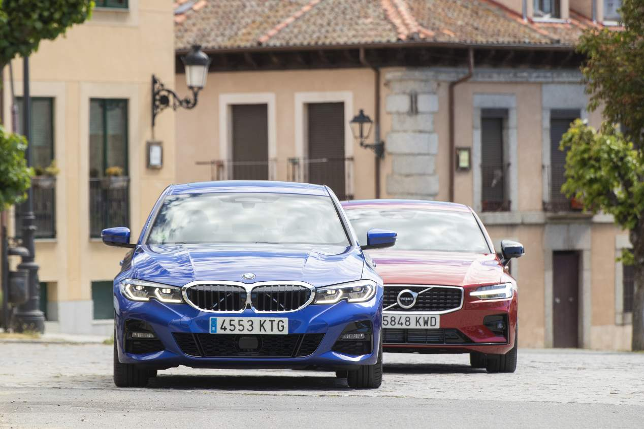 Comparativa: BMW 330i vs Volvo S60 T5