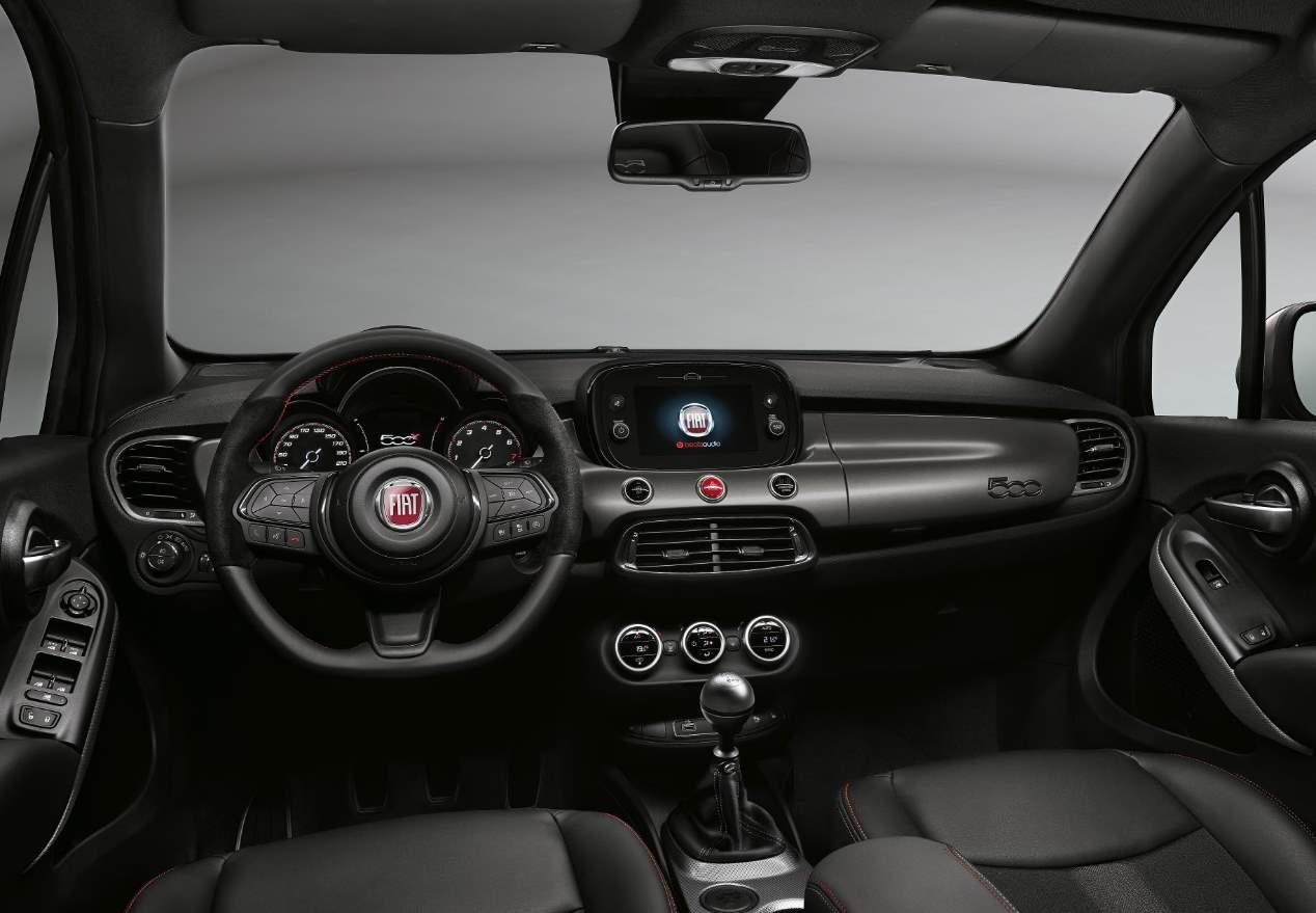 Fiat 500X Sport: las mejores fotos