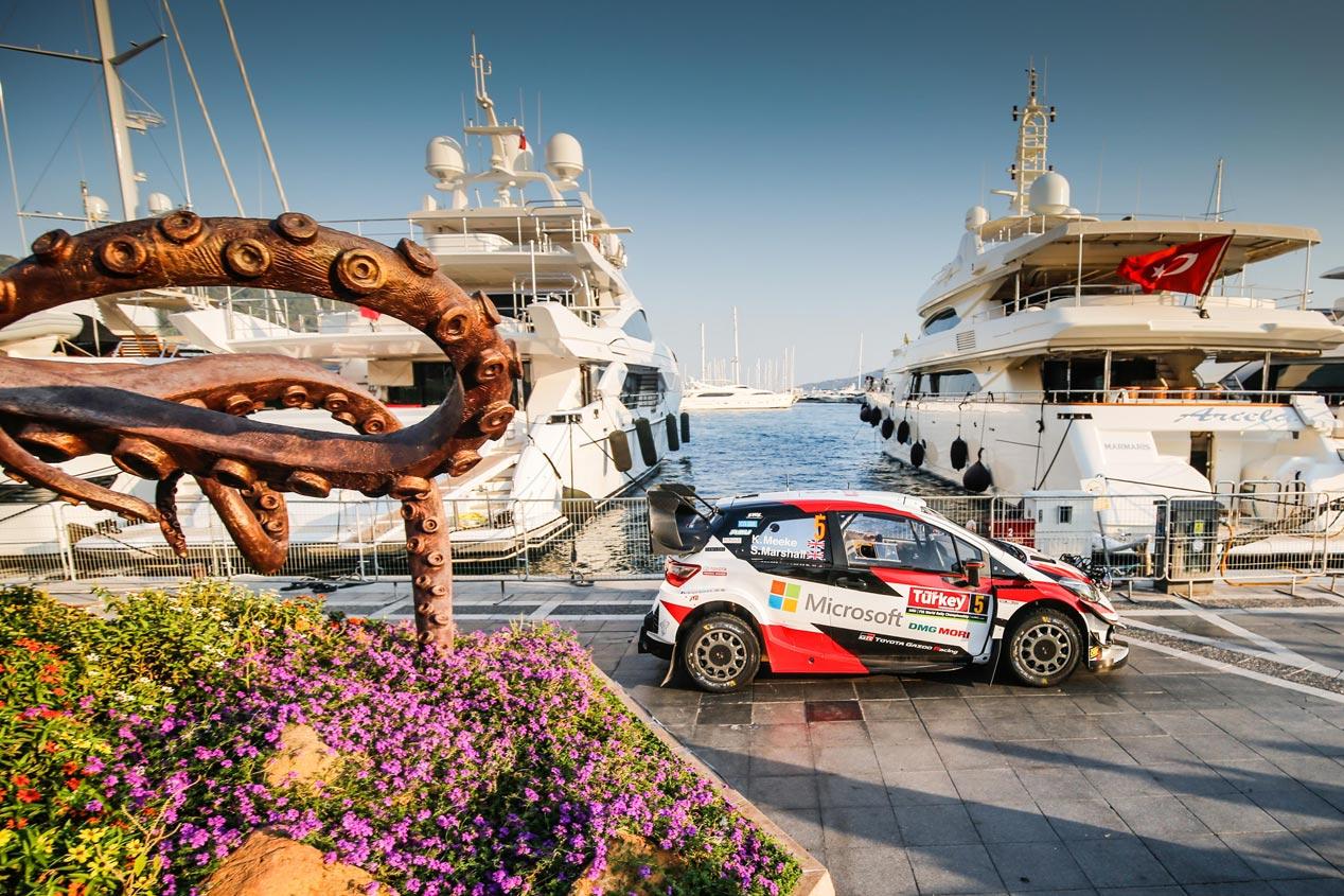 Las mejores imágenes del Rally de Turquía 2019