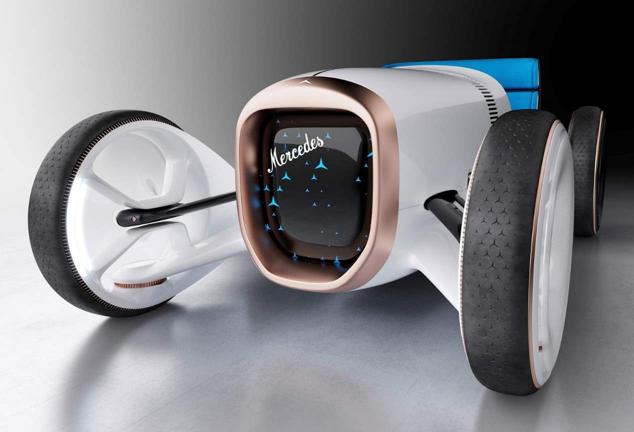 Mercedes Vision Simplex Concept: diseño retro que mira al futuro