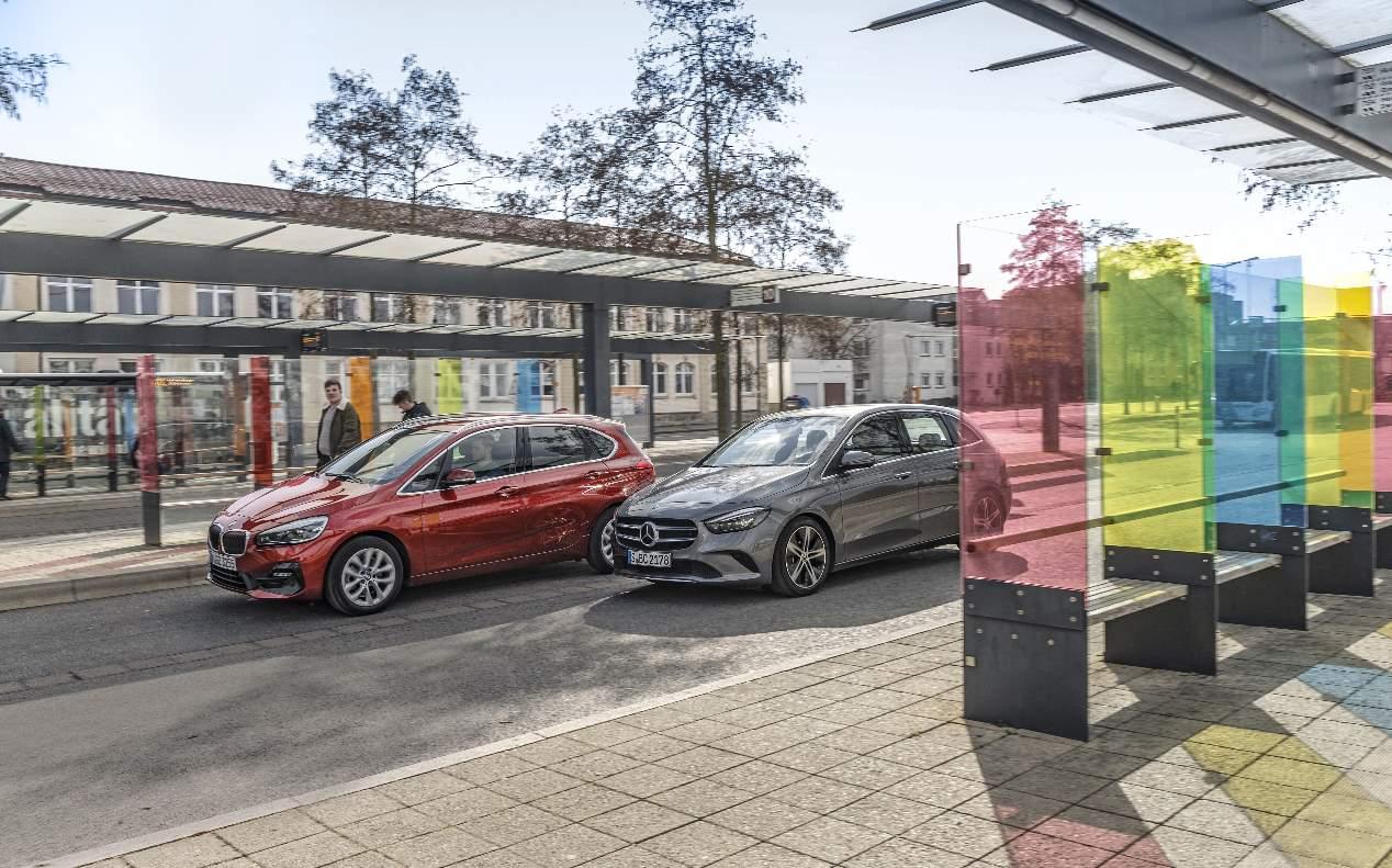 BMW Serie 2 Active Tourer vs Mercedes Clase B: duelo de familiares diésel
