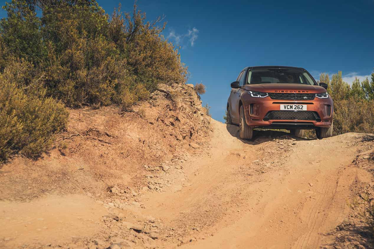 Así y es y así va la nueva generación Land Rover Discovery Sport