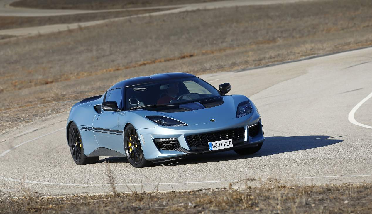 Lotus Evora Sport 410: un deportivo de pura raza