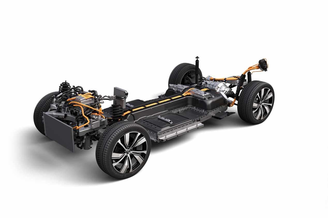 Volvo XC40 eléctrico: el nuevo SUV se presenta en octubre