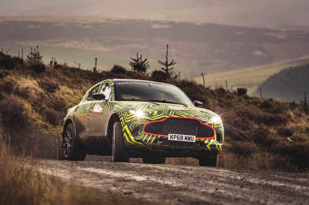 Aston Martin DBX: el primer SUV de la marca tendrá un V8 de 550 CV