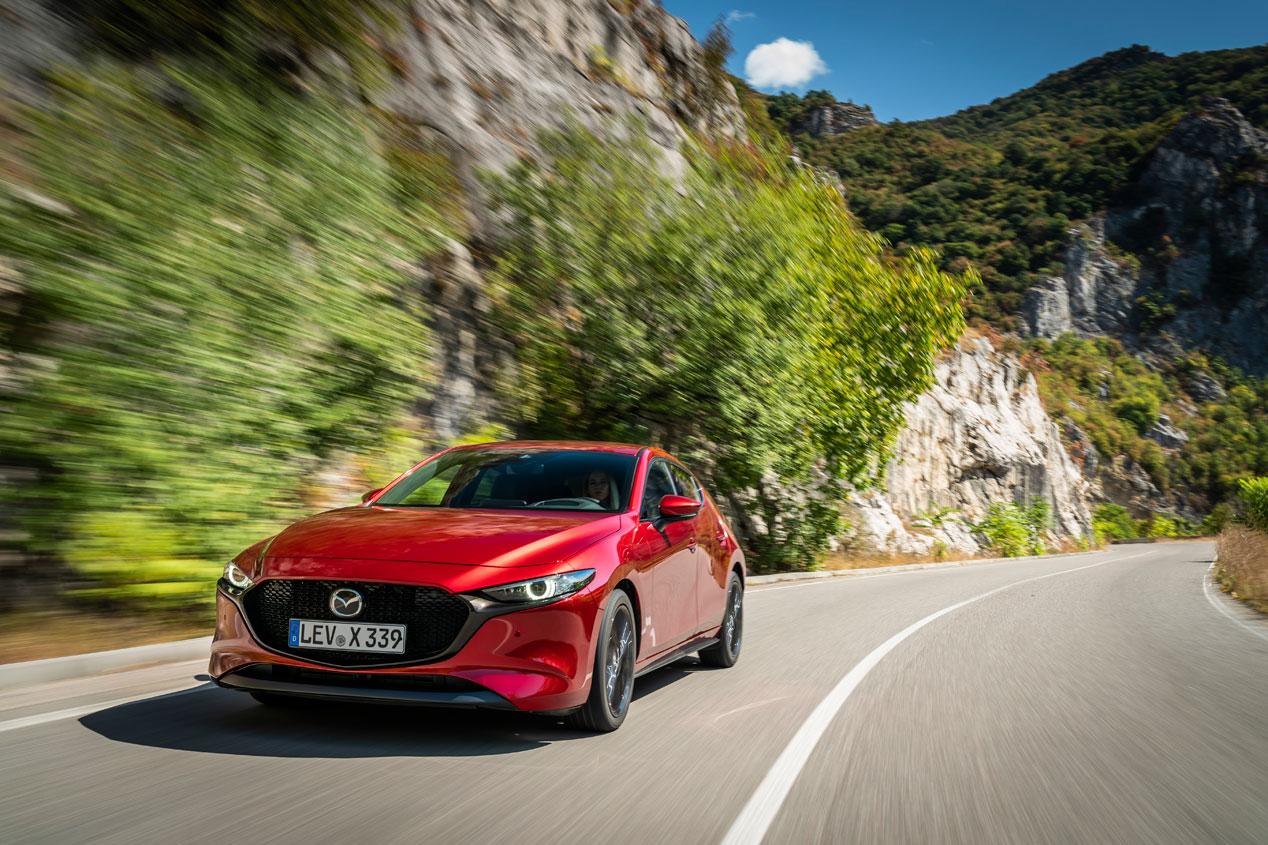 Mazda 3 Skyactiv-X, sus mejores fotos