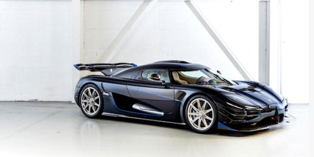25 millones de euros por la subasta de 25 coches de lujo de Teodorin Obiang