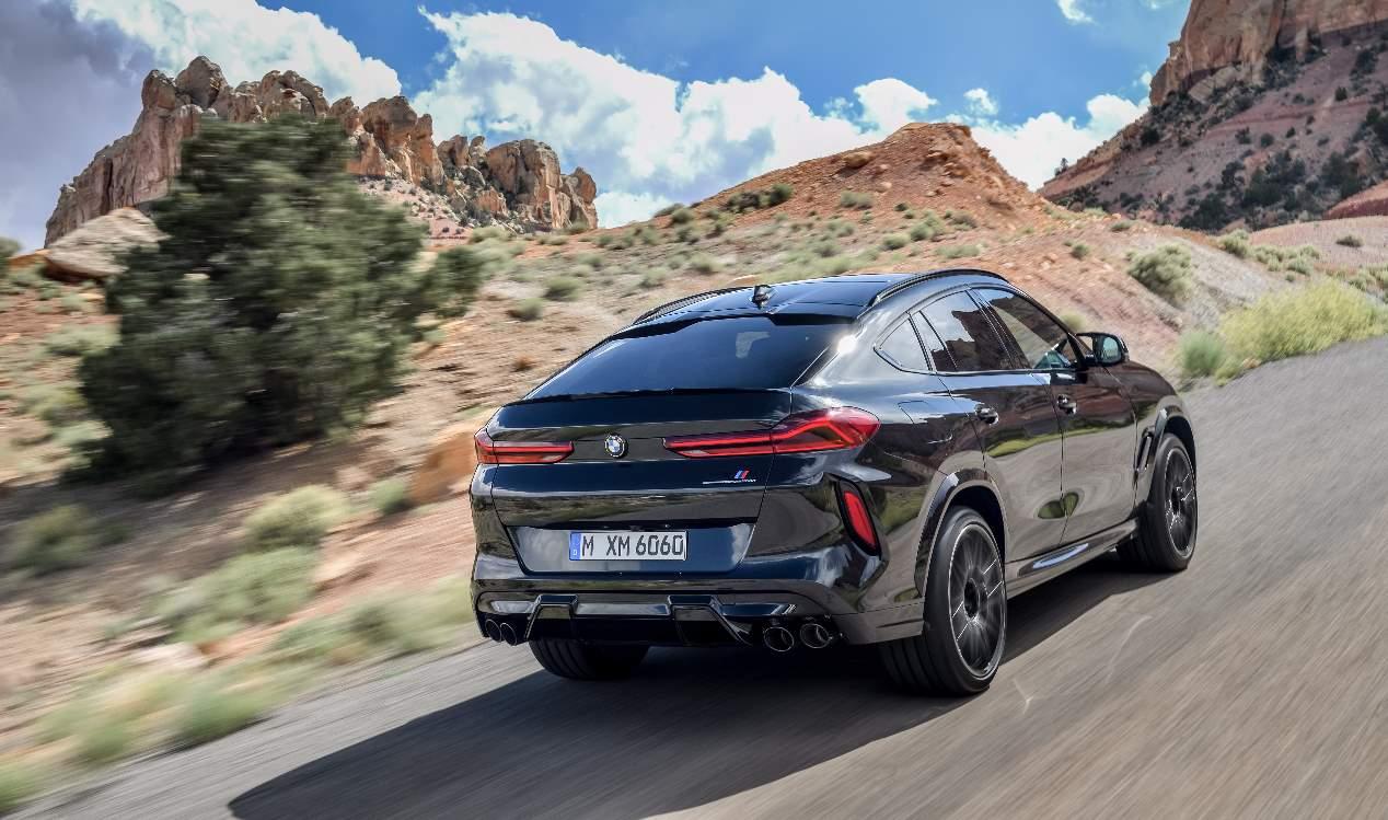 BMW X5 M, X5 M Competition, X6 M y X6 M Competition 2020: las fotos de los SUV más deportivos